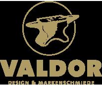 Valdor Design & Markenschmiede Logo