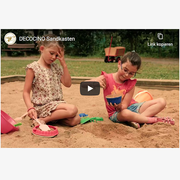 Decocino Sandkasten Video