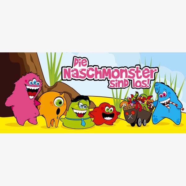 Banner Naschmonster