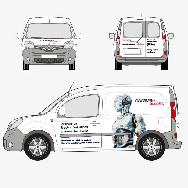 Fahrzeugbeschriftung Goormann Automation