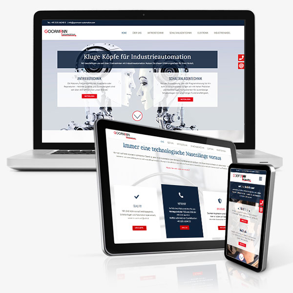 Website Goormann Automation